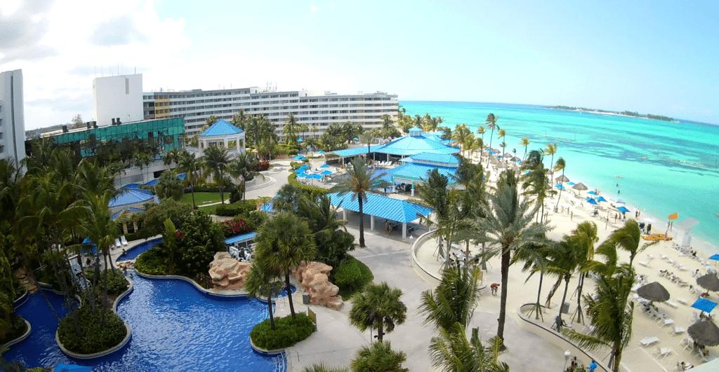 Hotelanlage Melia Nassau Beach