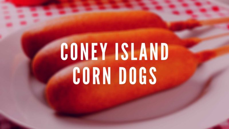 Partyhit: Coney Island Corn Dogs