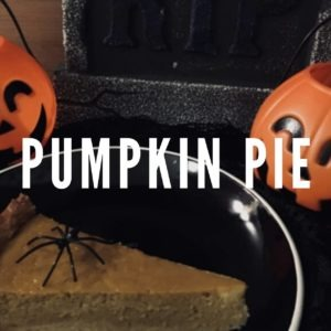 Trick or Treat? Pumpkin Pie!