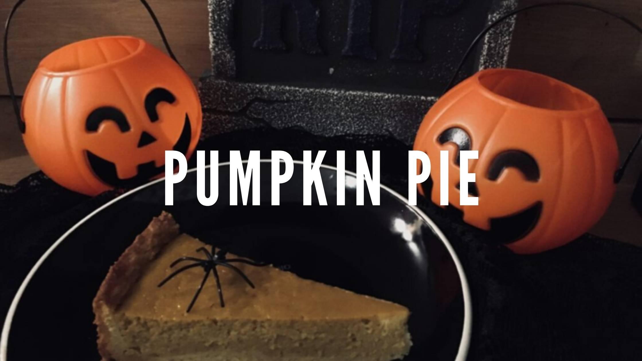 Trick or Treat? Pumpkin Pie!
