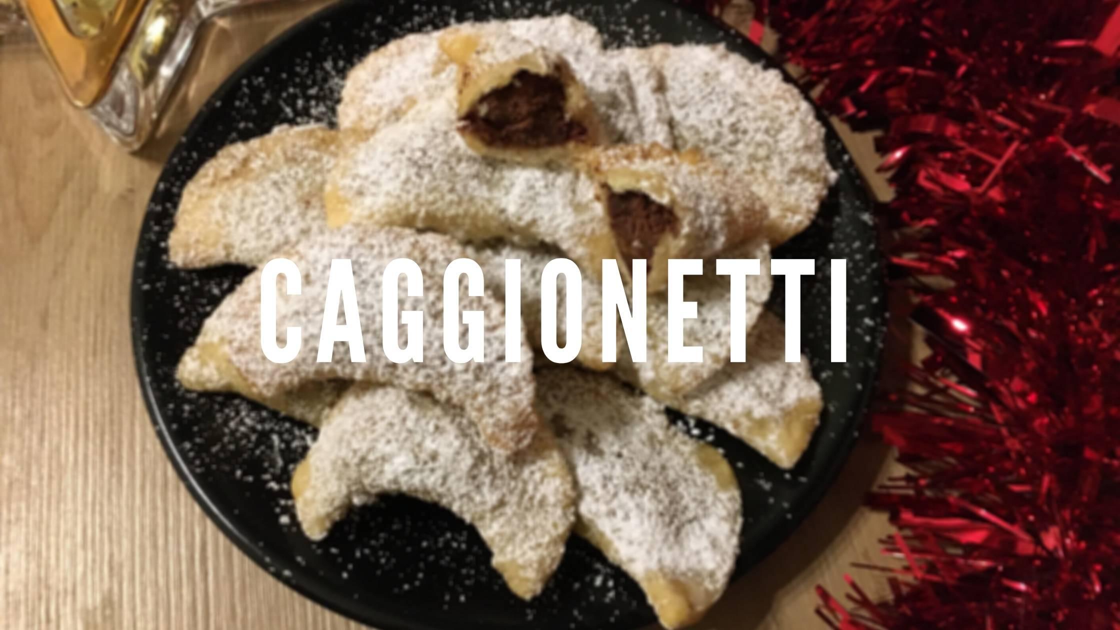 Caggionetti: Italienische Weihnachtskekse
