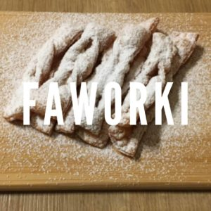 Faworki für polnische Karneval Vibes