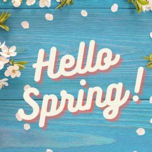 Hello Spring! Blühende Frühlingsgefühle