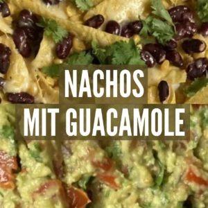 Mexikanische Nachos mit Guacamole